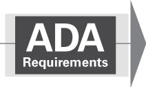 ADA 2010 Revised Requirements graphic
