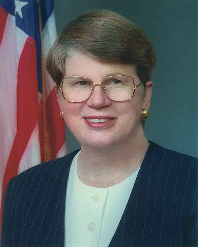 Photo: Attorney General Janet Reno