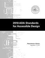 cover of Justice Department's 2010 ADA Standards