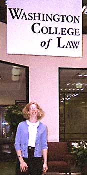Jackie Okin in law school