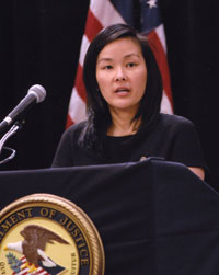 Acting Assistant Attorney General Grace Chung Becker