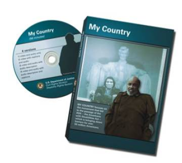<CD and Case Cover for my country video>