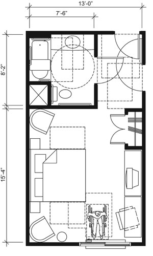 Residential Ada Bathroom Floor Plans