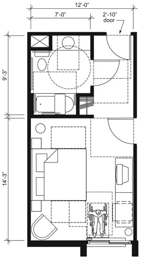 Hotel Room Floor Plan Design: Guidance On The 2010 ADA Standards For Accessible Design