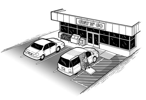ADA Compliance Brief: Restriping Parking Spaces - 2010 ...